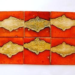 dekory orientalne,kafle ręcznie robione, - Ceramika i szkło - Wyposażenie wnętrz