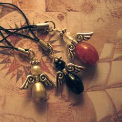 anioł,aniołek,aniołki,breloczek,Extrano - Breloki - Biżuteria