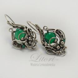 wrapping,srebro,biżuteria,kolczyki,litori - Kolczyki - Biżuteria