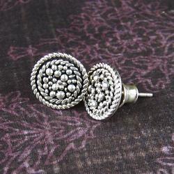 retro,błyszczące,oryginalne,filigranowe, - Kolczyki - Biżuteria