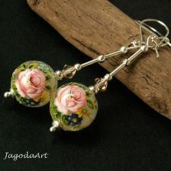 kobiece,kwiatowe,delikatne.tensha,subtelne - Kolczyki - Biżuteria