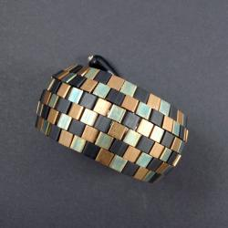 pleciona,bransoleta,Tila - Bransoletki - Biżuteria