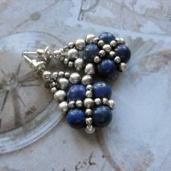 plecione,sztyfty - Kolczyki - Biżuteria