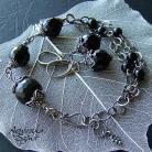 Komplety gotycki styl,gotycka biżuteria,onyks