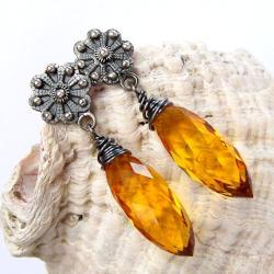 wyraziste,luksusowe,połyskujace,misterne - Kolczyki - Biżuteria