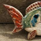 Ceramika i szkło ryba,dekor