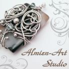 Wire-wrapping by Almien-art Studio