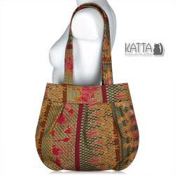 torebka etno,złota torebka,afryka,motyw etno - Na ramię - Torebki