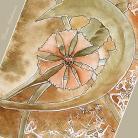 Ilustracje, rysunki, fotografia akwarela,obraz,prezent,kwiaty,romantyczna