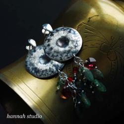 zmysłowe kolczyki - Kolczyki - Biżuteria