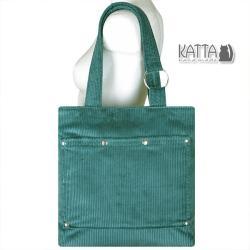 duża torba,na uczelnię,zielona torba,do pracy - Na ramię - Torebki