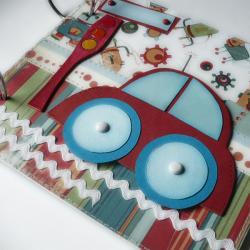 folder cd dla chłopca,samochód,auto czerwone - Dla dzieci - Akcesoria