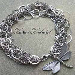 elegancka,ekskluzywna,srebrna bransoleta - Bransoletki - Biżuteria