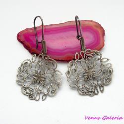 srebrne kolczyki - Kolczyki - Biżuteria