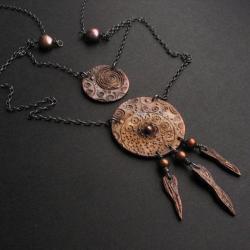 brąz,oryginalny, - Naszyjniki - Biżuteria