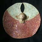 Ceramika i szkło aniołek,stróż,ceramika,magnolia
