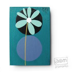 magnes,na lodówkę,kwiatek,kwiatuszek,magnesik - Magnesy na lodówkę - Wyposażenie wnętrz
