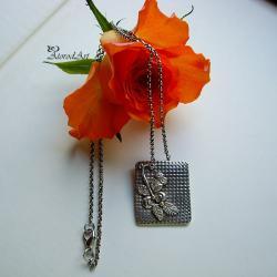 wisior,srebro, - Wisiory - Biżuteria