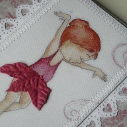 folder cd,baletnica,dla dziewczynki - Dla dzieci - Akcesoria