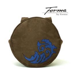 koło,ekozamsz,aplikacja,torebka na ramię,okrągła - Na ramię - Torebki