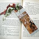 Zakładki do książek zakładka z reprodukcją obrazów Muchy,bibliofil