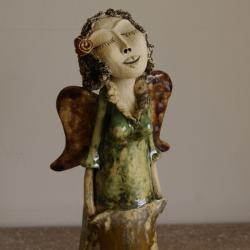 anioł - Ceramika i szkło - Wyposażenie wnętrz