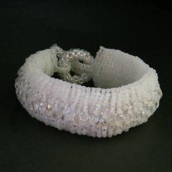 beading,ślubna - Bransoletki - Biżuteria