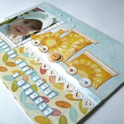 Dzień Babci,Dzień Dziadka,zdjęcie dziecka - Kartki okolicznościowe - Akcesoria