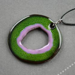 naszyjnik ceramiczny,oryginalny - Naszyjniki - Biżuteria