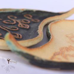 jin,jang,patera,komplet,łezka,ceramika,unikat - Ceramika i szkło - Wyposażenie wnętrz