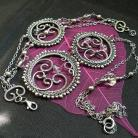 Komplety komplet biżuterii,naszyjnik,wire-wrapping