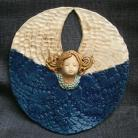 Ceramika i szkło aniołek,ceramika,dekoracja