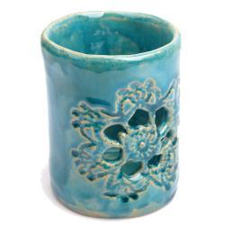 kubek,łazienka,ozdoba, - Ceramika i szkło - Wyposażenie wnętrz