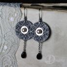 Kolczyki taniec,okrąg,koło,ornamenty,celtyckie