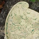 Ceramika i szkło patera,ceramika,turkus,unikat,prezent,na nóżkach,