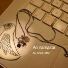 Naszyjniki naszyjnik,minimalizm,granaty,perła