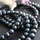 Komplety srebro,perły,czarny,komplet