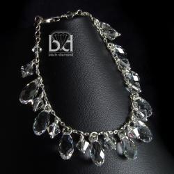 efektowna bransoletka swarovski - Bransoletki - Biżuteria