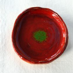 podstawka,ceramika,na świecę - Ceramika i szkło - Wyposażenie wnętrz