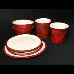 komplet śniadaniowy,zestaw,stołowy,na prezent - Ceramika i szkło - Wyposażenie wnętrz