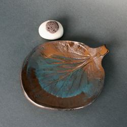ceramika,podstawka na świeczkę,dekoracja wnętrz - Ceramika i szkło - Wyposażenie wnętrz