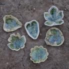 Ceramika i szkło liść,patera,misa,ceramika