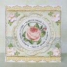 Kartki okolicznościowe kartka,romantyczna,kobieca,kwiaty,pastele