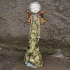 Ceramika i szkło ceramika,anioł,figurka,anielica