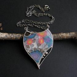 anna fidecka,biżuteria artystyczna,polymer clay - Naszyjniki - Biżuteria