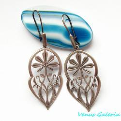 srebrne kolczyki, - Kolczyki - Biżuteria