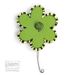 magnes na lodówkę,anamarko,kwiatek,kwiat - Magnesy na lodówkę - Wyposażenie wnętrz