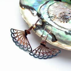 srebrne kolczyki,oksydowane kolczyki,kolczyki - Kolczyki - Biżuteria