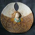 Ceramika i szkło aniołek,stróż,ceramika