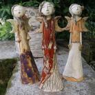 Ceramika i szkło figurka,anioł,